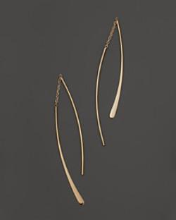 Double Dangle Wire Earrings
