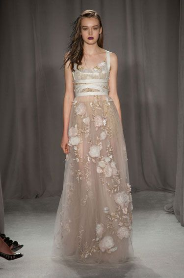Marchesa--- The Lighter Side Gown