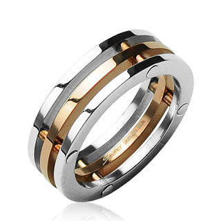 Tri-Band Two Tone Ring