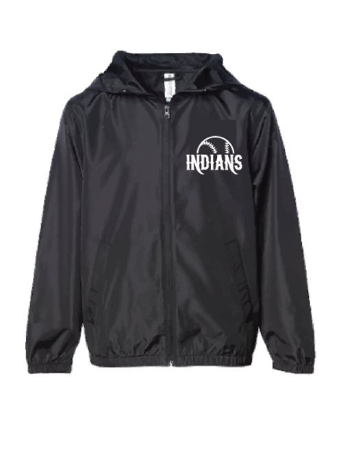 Lightweight Windbreaker - Indians (Youth/Adult)