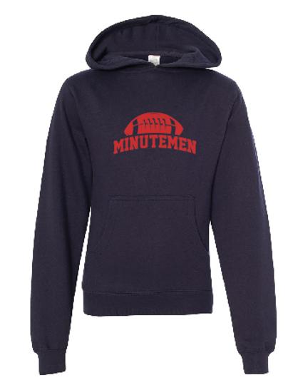 Youth Fleece Hoodie -Minutemen