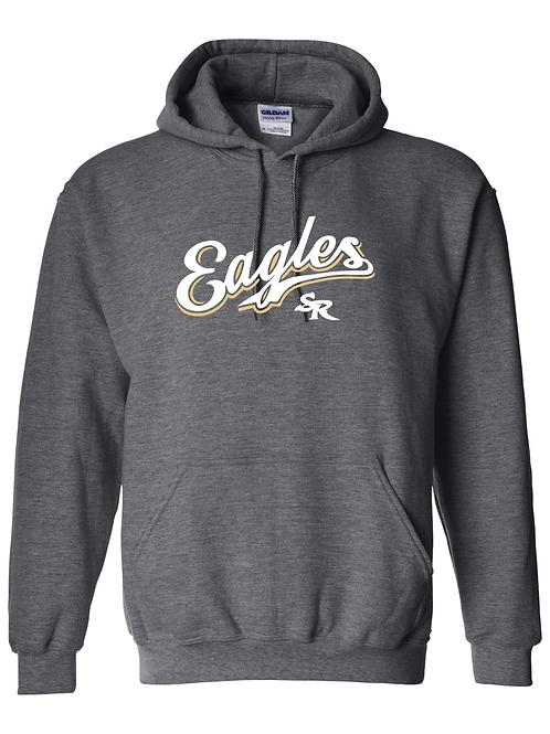 Cursive Eagles Hoodie