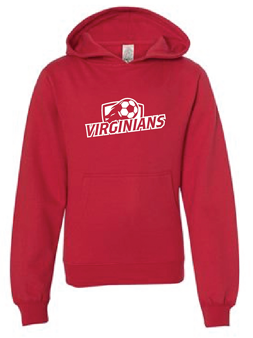 Youth Fleece Hoodie - Virginians Soccer