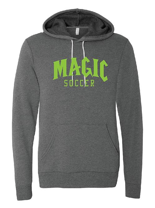 Unisex Fleece Hoodie - Magic Soccer