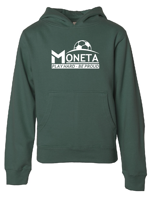 Youth Fleece Hoodie - U8 Moneta Soccer