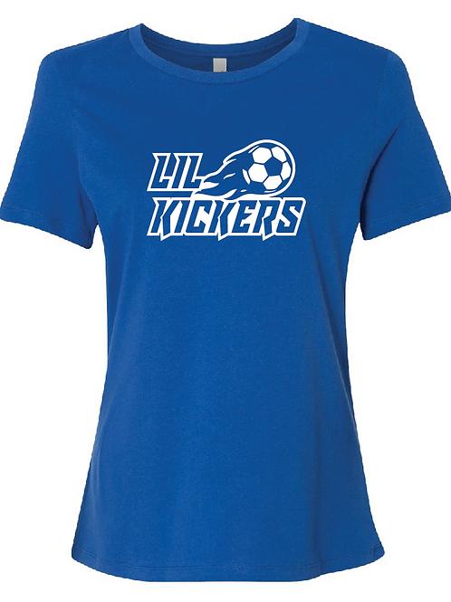 Lil Kickers Women's Relaxed Jersey Short Sleeve Tee