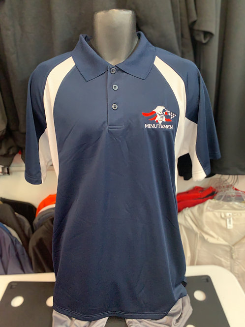 (LAST ONE!) Large Men's Minutmen Performance Polo