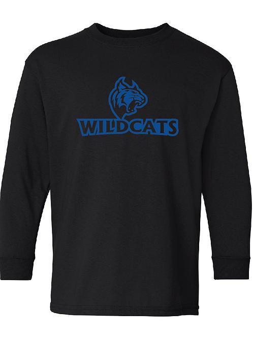 Youth Wildcats Longsleeve T-Shirt