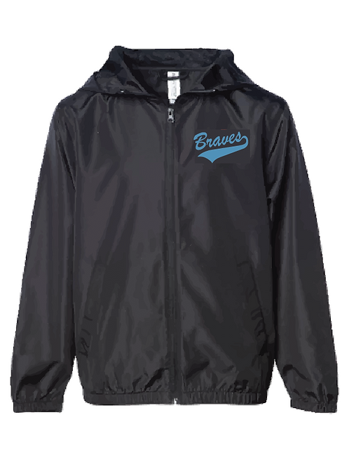Lightweight Windbreaker - Braves Soccer (Youth/Adult)