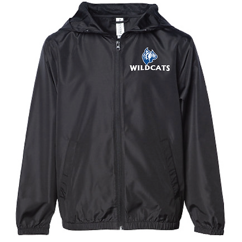 Lightweight Windbreaker - Wildcats Soccer (Youth/Adult)