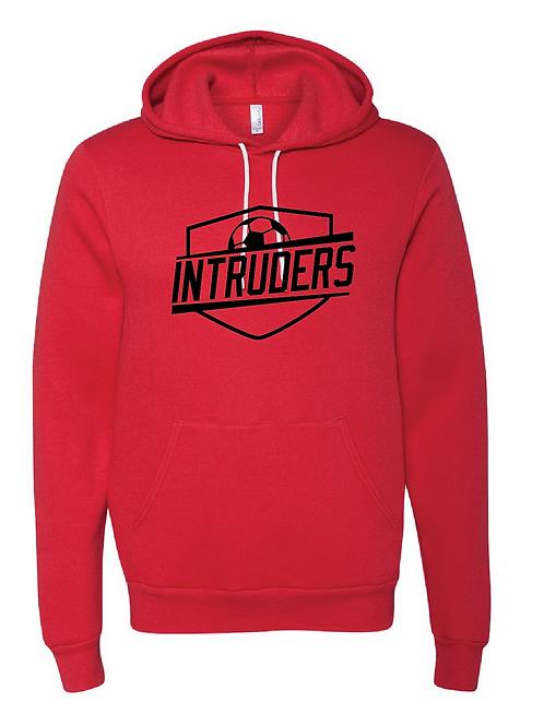 Unisex Fleece Hoodie - Intruders Soccer