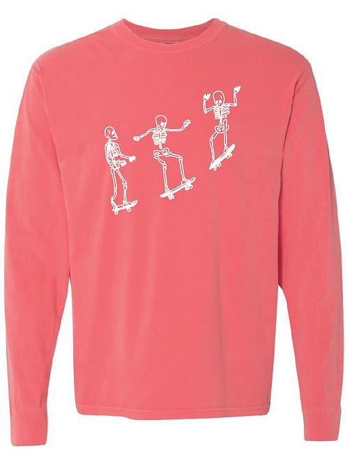 Comfort Colors - Skating Skeletons