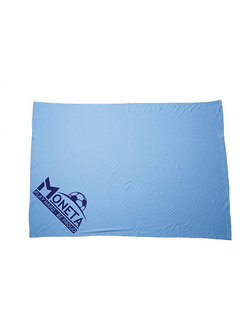 U10 Moneta Fleece Blanket (Customizable)