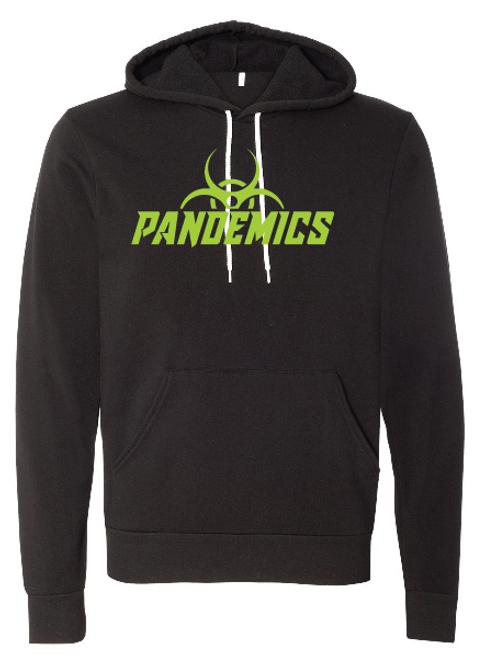 Unisex Fleece Hoodie - Pandemics Soccer
