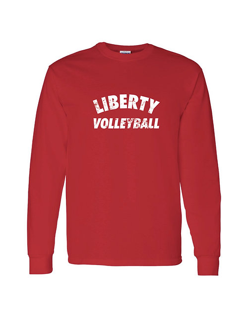 Liberty Volleyball Distress Longsleeve