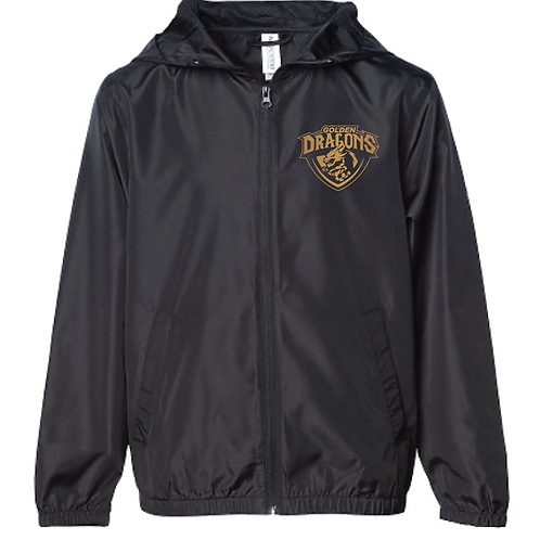 Lightweight Windbreaker - Golden Dragons Soccer (Youth/Adult)