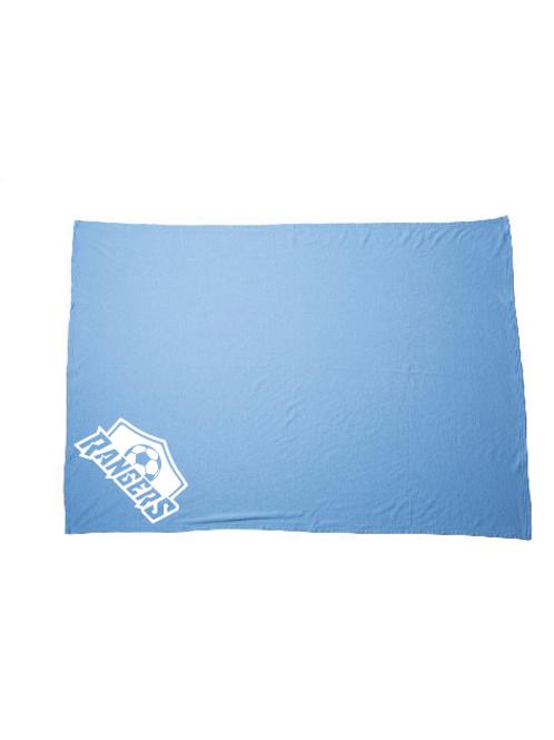 U10 Rangers Fleece Blanket (Customizable)