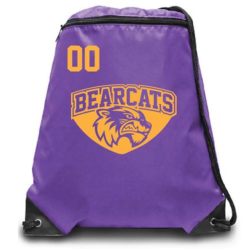Bearcats Zippered Drawstring Backpack
