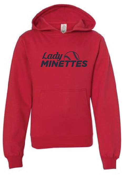 Youth Fleece Hoodie - Lady Minettes