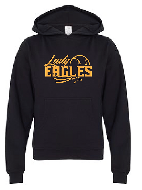 Youth Fleece Hoodie - Lady Eagles