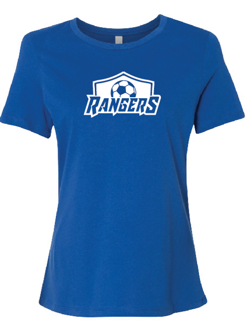 U10 Rangers Women's Relaxed Jersey Short Sleeve Tee