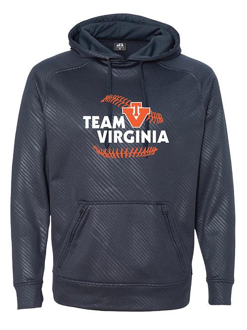 Premium Performance Hoodie - Team Virginia -Stitches
