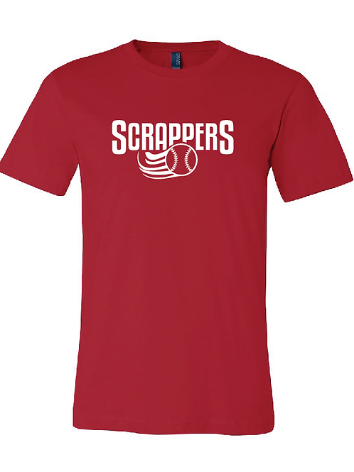 Youth Scrappers Baseball T-Shirt