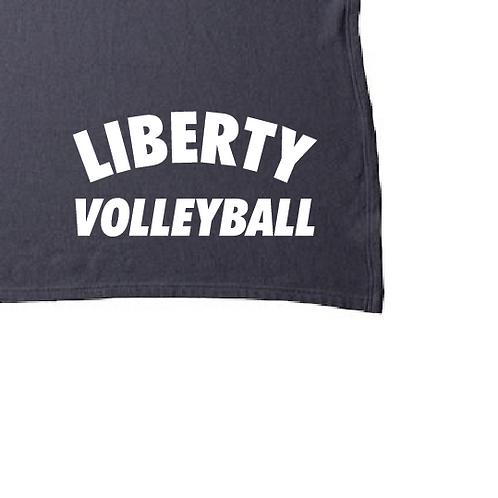 Fleece Blanket - Liberty Volleyball - INDBKTSB