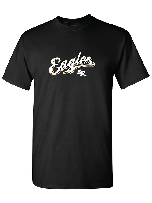 CURSIVE EAGLES SR T-SHIRT