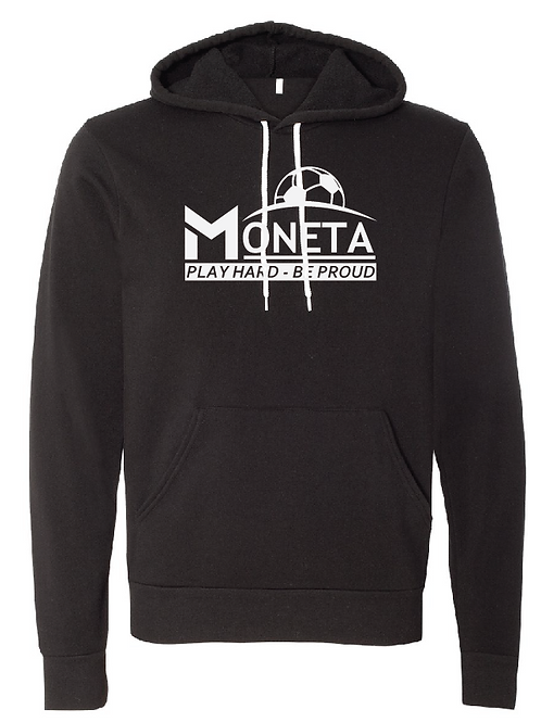Unisex Fleece Hoodie - Moneta Soccer