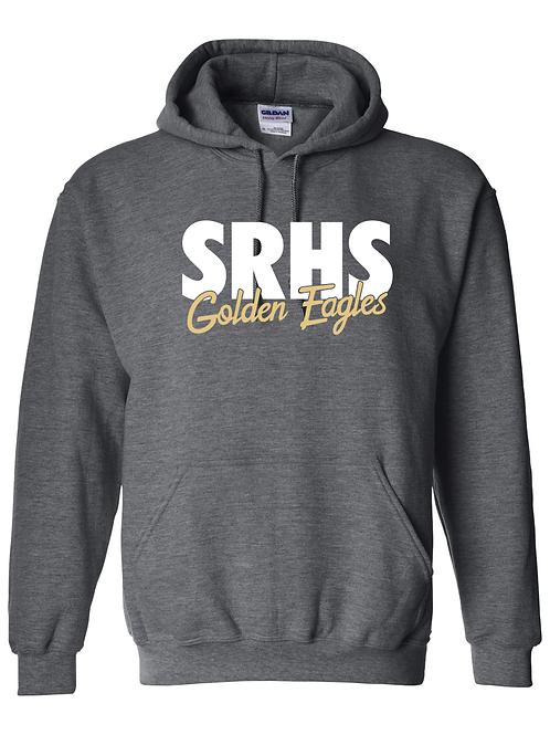 SRHS Golden Eagles Cursive Hoodie