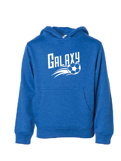 Youth Fleece Hoodie - Galaxy Soccer