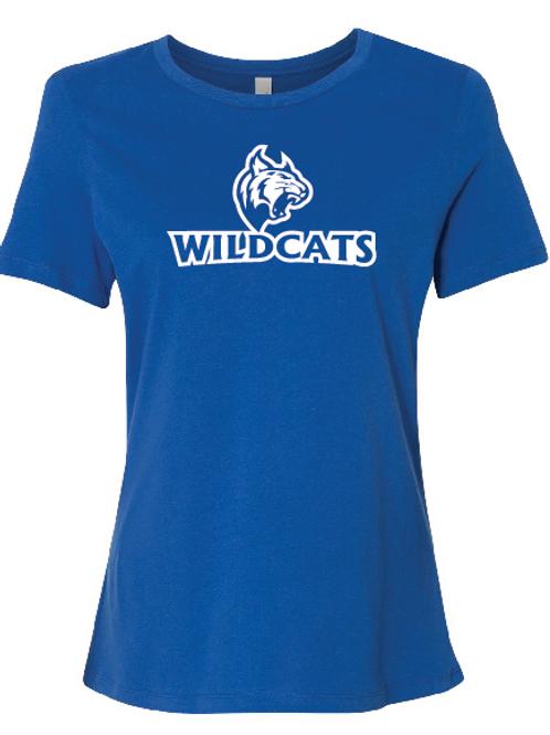 Wildcats Softball Women's Relaxed Jersey Short Sleeve Tee