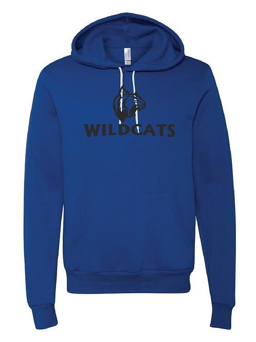 Unisex Fleece Hoodie - Wildcats Soccer