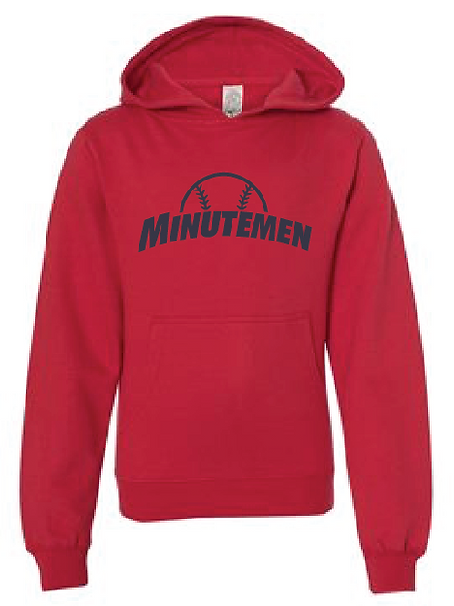 Youth Fleece Hoodie - Minutemen (T-Ball)
