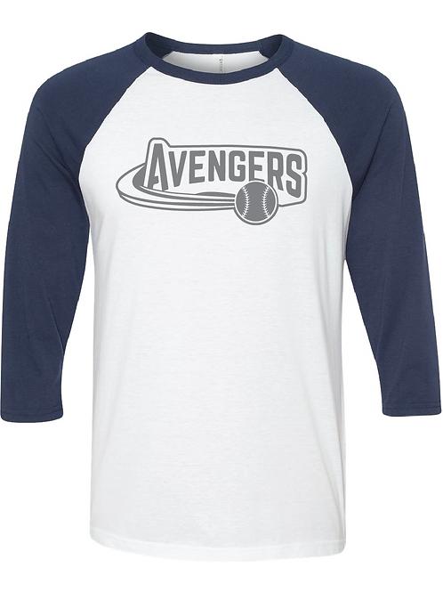 3/4 Length Avengers Raglan
