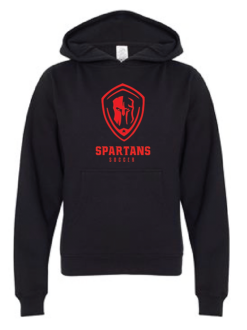 Youth Fleece Hoodie - Spartans Soccer