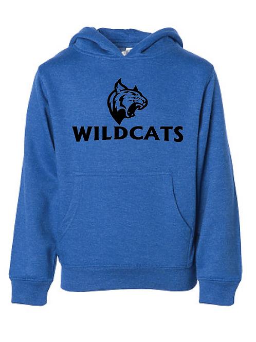 Youth Fleece Hoodie - Wildcats Soccer