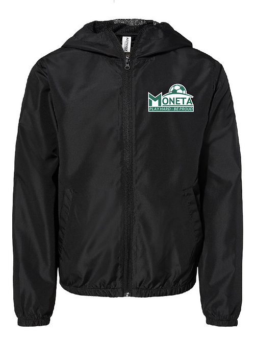 Lightweight Windbreaker - U8 Moneta Soccer