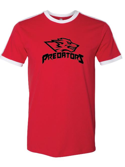 Predators Retro Ringer Fine Jersey Tee