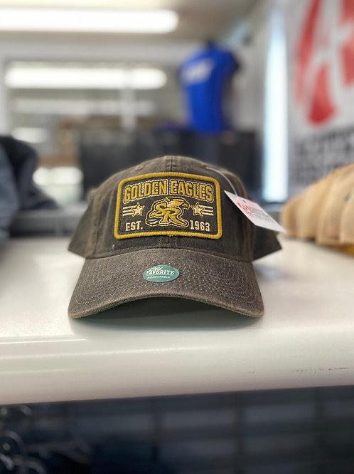 Legacy Vintage Style Brown Baseball Cap (SR)