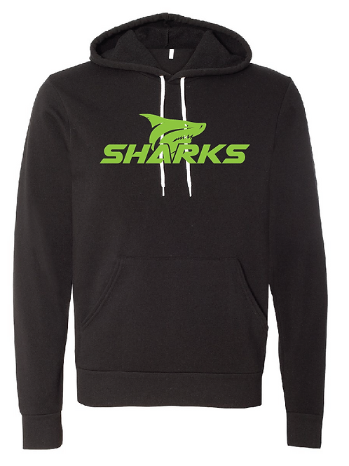 Unisex Fleece Hoodie - U8 Sharks Soccer