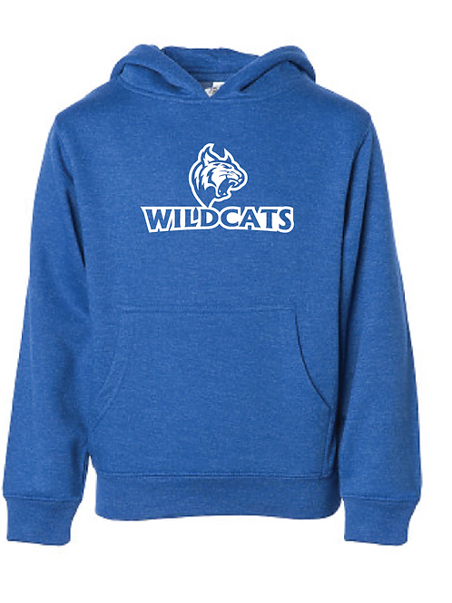 Youth Fleece Hoodie - Wildcats Softball
