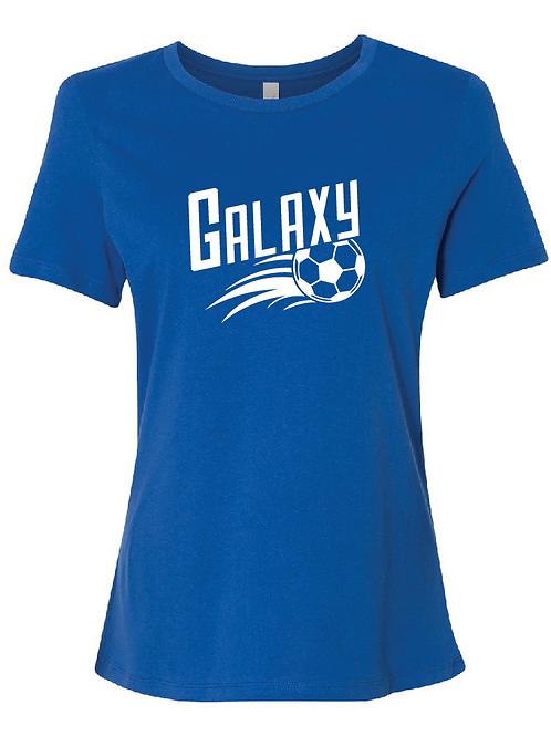 Galaxy Women's Relaxed Jersey Short Sleeve Tee