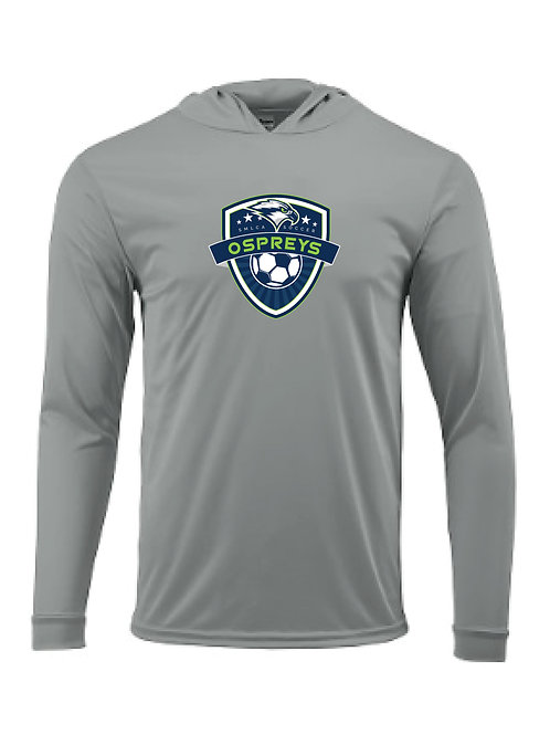 Performance Hooded Longsleeve - SMLCA Soccer Crest