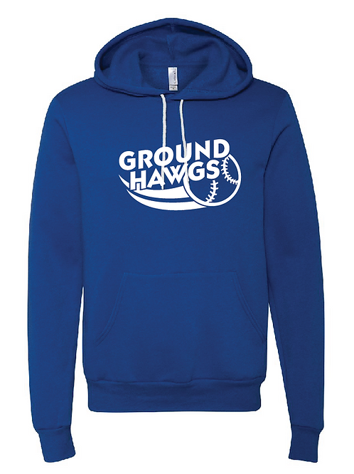 Unisex Fleece Hoodie - Ground Hawgs