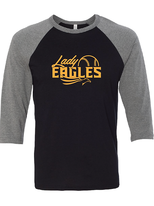 3/4 Length Lady Eagles Raglan