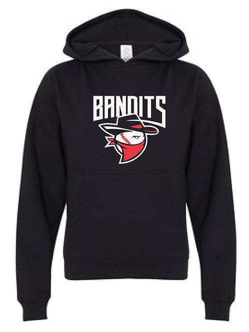 Youth Fleece Hoodie Bandits Baseball