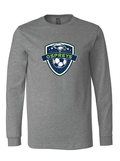 Unisex Long Sleeve Tee- SMLCA Soccer Crest