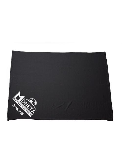 Moneta Fleece Blanket (Customizable)